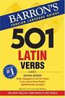 501 Verb: 501 Latin Verbs by Richard E. Prior and Joseph Wohlberg (2007, Paperback)