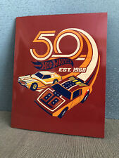 Brand New Mint 50th Anniversary of Hot Wheels Model Cars Est. 1968 Stamp Pack