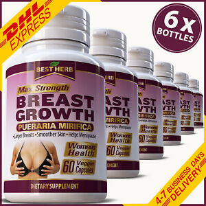 BREAST-GROWTH-CAPSULES-PUERARIA-MIRIFICA-FIRMING-BUST-ENLARGEMENT-5000mg-EXTRACT