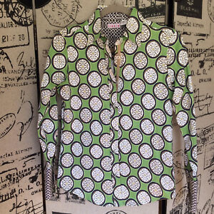 XS bruin print Tizzie groen maat shirt Ybf6gy7