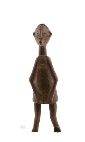Imparato Statua Feticcio Gruppo Etnico Chamba Nigeria Arte Africano Aa584