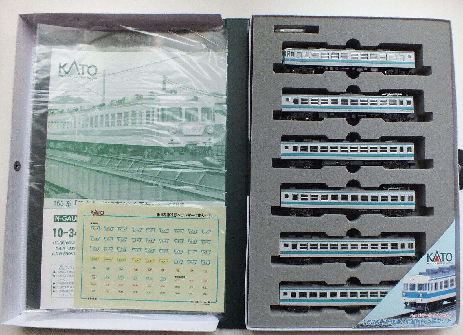 KATO 10-344 153 Series  Shin Kaisoku  6 Car EMU Set