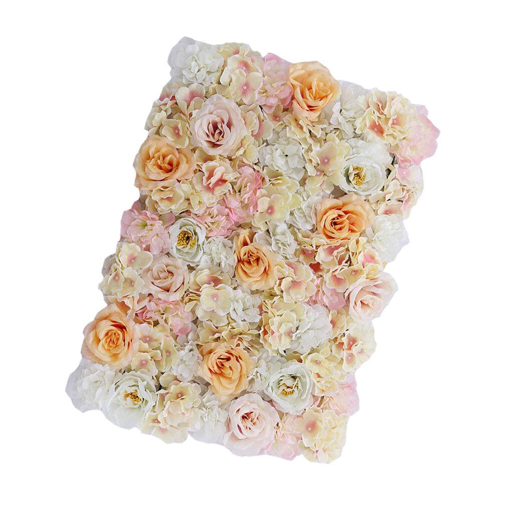 24x Elegant bleumenwand rosenwand fleurs pilier pour chacune des occasions