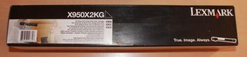 Black BRAND NEW !! Cartouche toner Lexmark X950X2KG