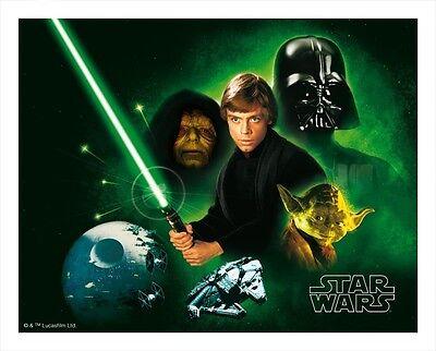 3D Mousepad Star Wars Saga Mauspad Darth Vader Lukas Skywalker Jedi Ritter Bunt