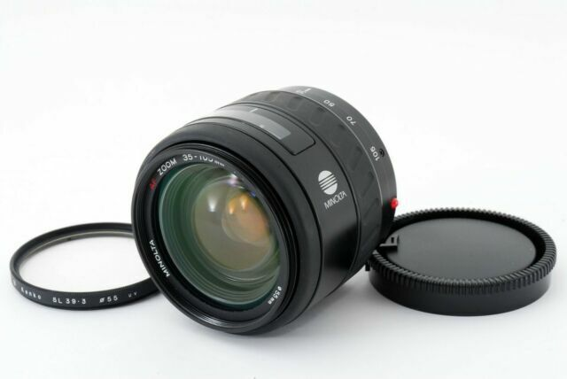 Minolta AF 35-105mm f3.5-4.5 Mini /'Beercan/' para Minolta /& Sony un Filtro Montaje