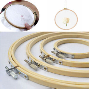 Good-Wood-Cross-Stitch-Machine-Embroidery-Hoop-Ring-Bamboo-Sewing-Frame-10-40cm