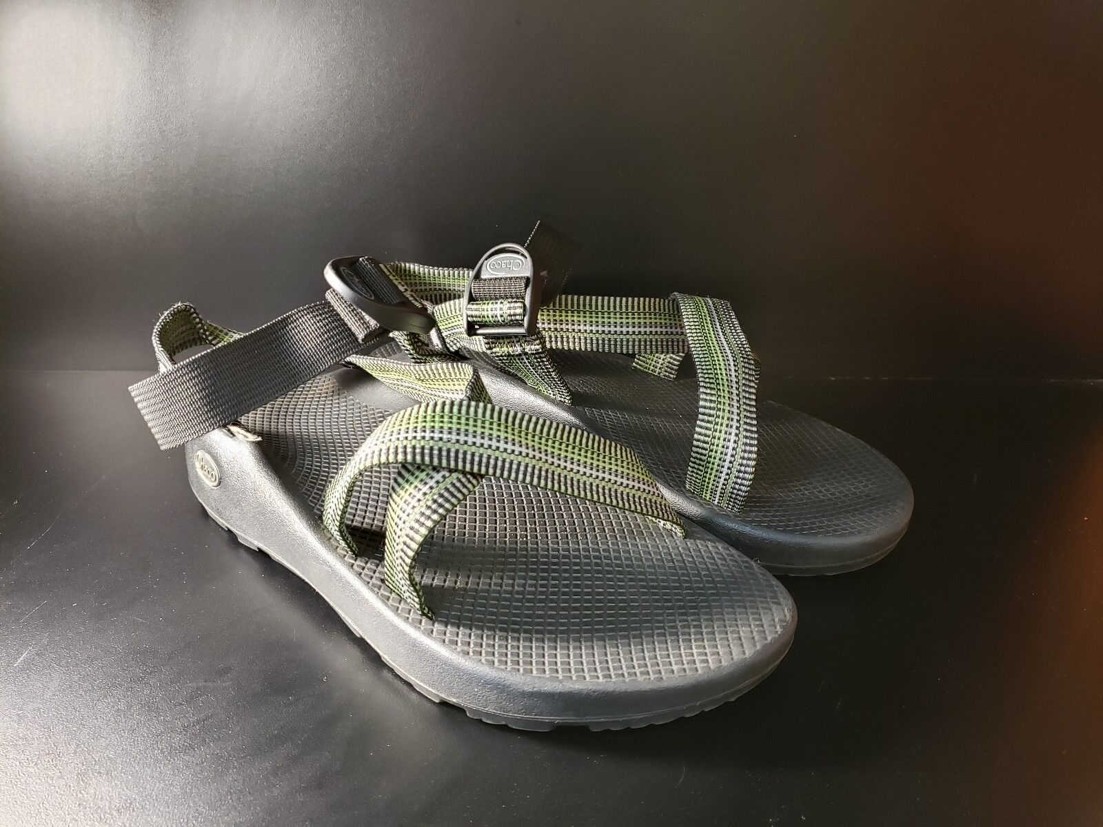 Chaco Mens M11 Seals Sport sautope Ankle Strap Open Toe verde Design Outdoor