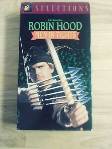 1994 VHS - Robin Hood: Men in Tights - Cary Elwes ...