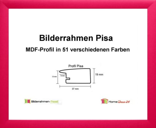 Pisa MDF-Bilderrahmen Standard I von 30 x 30 bis 30 x 39 cm