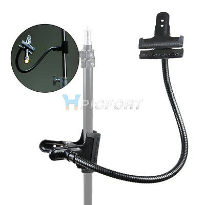NEW Photo Studio Lighting Light Stand Magic Clamp with Flex Arm