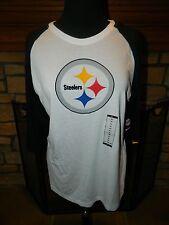 Women's Nike NFL Team Apparel Pittsburgh Steelers 3/4 Sleeve Football Shirt XL