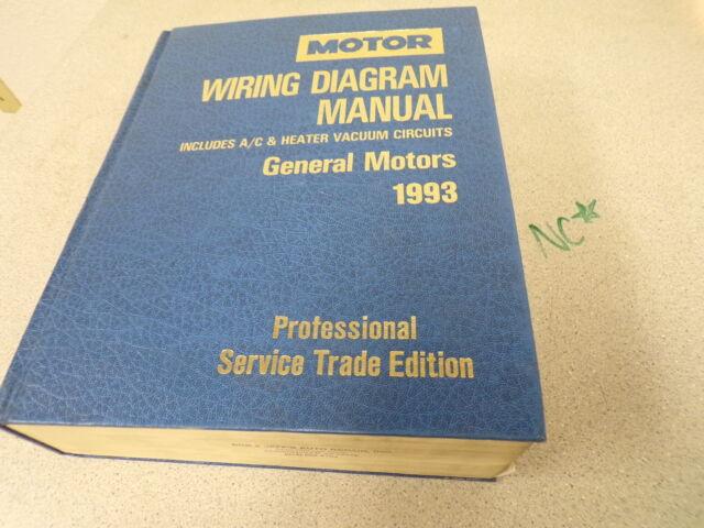 Gm 1993 Motor Wiring Diagram Manual 21093 0