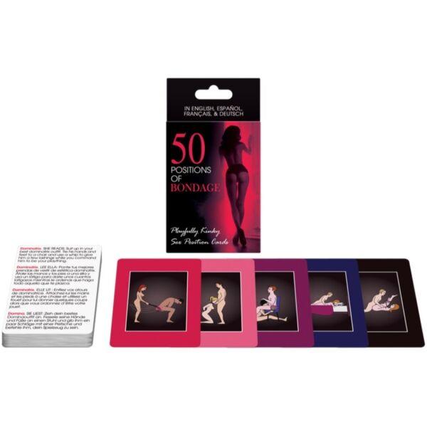 50 Positions Of Bondage Xxx Adult Card Game - Kheper Games For Sale Online  Ebay-3148