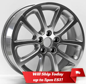 New-Set4-18-034-Replacement-Alloy-Wheels-Rims-and-Centers-for-2006-2012-Ford-Fusion