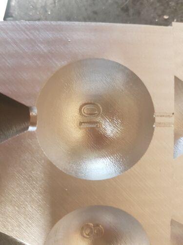 Sea Fishing Ball Boat Lead Weight Mould 8oz 10oz cnc aluminium