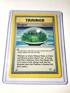ECOGYM-Neo-Genesis-Set-84-111-Rare-Trainer-Pokemon-Card-Unlimited-NM