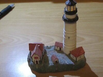 Spoontiques Lighthouse Boston Light, MA 009109L Excellent Condition