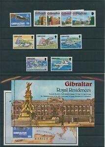 Gibraltar-Vintage-1978-Neuf-MNH-sans-Mi-383-386-Lire-la-Description