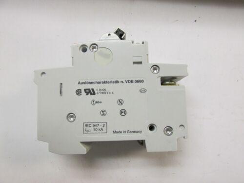 * ABB Circuit Breaker Cat# S272-K10A .. UA-22A 2P . 10A .. 277//480 .