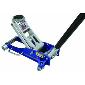 PITTSBURGH-AUTOMOTIVE-Aluminum-Racing-Floor-Jack-With-Rapid-Pump-3-Ton-NEW