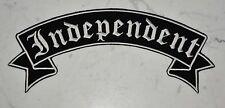 Independent Rocker Got XL Top IRON ON PATCH Aufnäher Parche brodé patche toppa