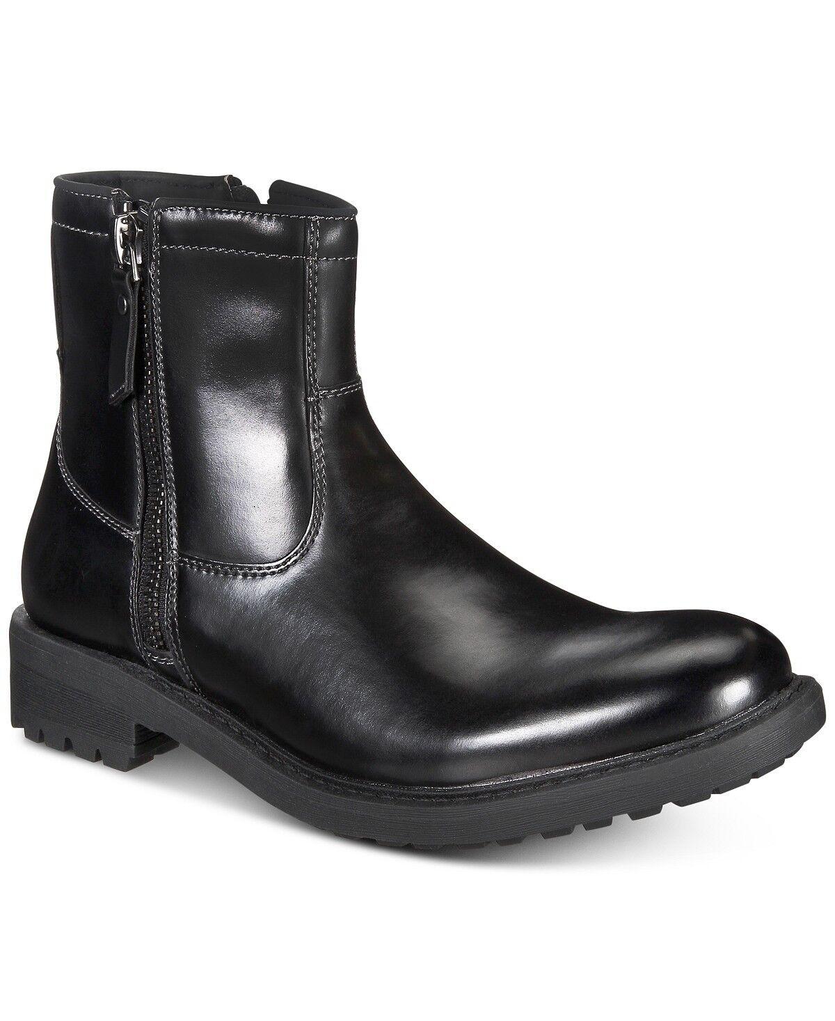 BNIB Kenneth Cole Reaction Unlisted Men's C-Roam Zip-Up Boot SZ 10.5 DS