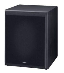 magnat monitor supreme sub 302 a schwarz neu bassreflex. Black Bedroom Furniture Sets. Home Design Ideas