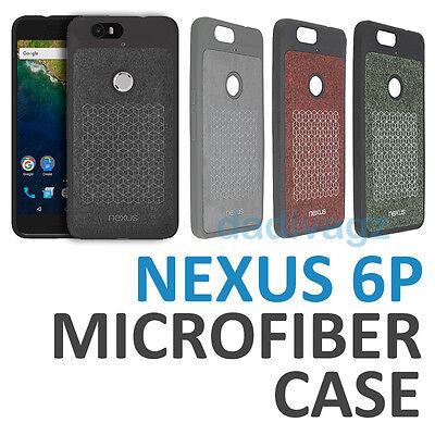 detailed look 5a04d 3a6d5 Genuine Official Huawei Google Nexus 6P Bumper Case Microfiber Flannel TPU  Cover | eBay