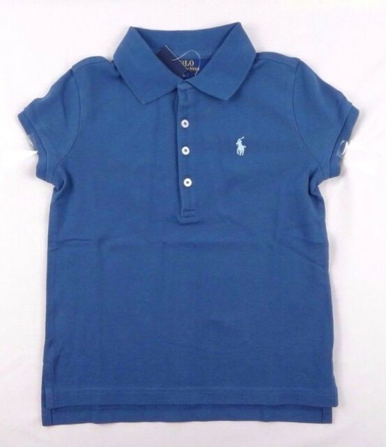 Ralph Lauren Girls Cotton Polo Short Sleeve Top sizes 2,3,4,5