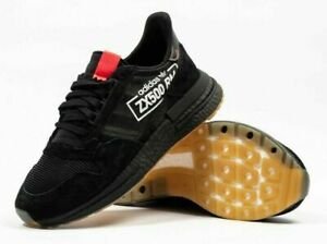 Details about New Adidas Original ZX 500 RM Mens Size 10.5 Black AlphaType Shoes BB7443