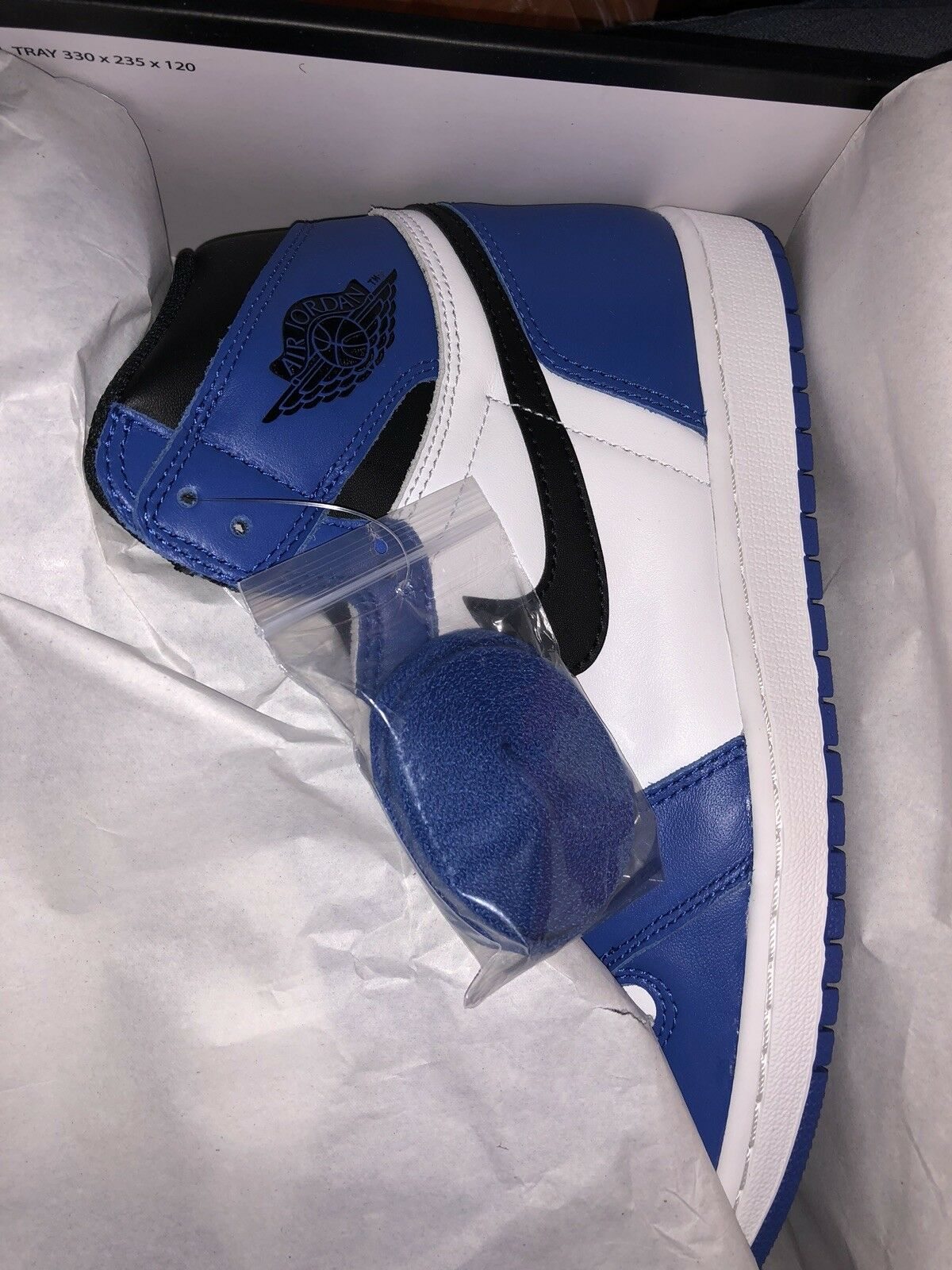 6fcddeecbb NEW DS 2018 Nike Air Jordan 1 Retro High OG Game Royal Alternate 555088-403  noqrib7169-Athletic Shoes