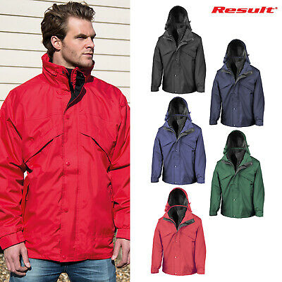 Jacket Result R099X Alaska 3 In 1 Jacket Navy//Black UK L Waterproof Windproof