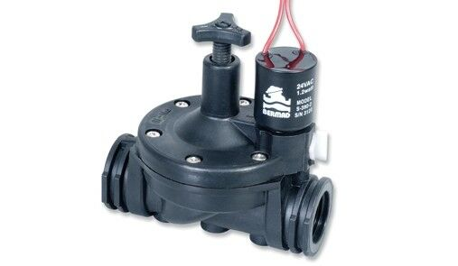 Bermad DC 200 Series Irrigation 2 Lead Flow Controlled Latch Solenoid 1.5