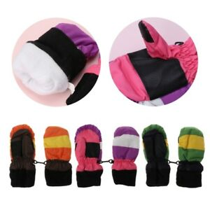 Thickening Baby Mittens Warm Winter Baby Boys Girls Children Snowboard Gloves