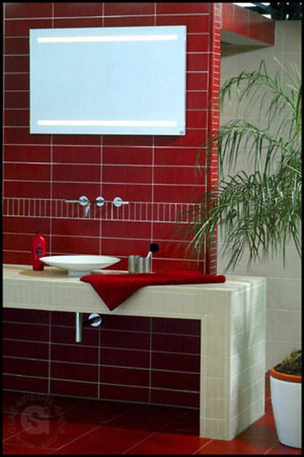 Hinterleuchteter Badezimmerspiegel nach Wunsch Maß Leuchtspiegel Leuchtspiegel Leuchtspiegel 9bd2bc