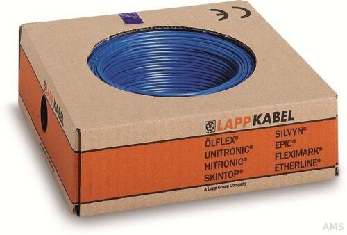 Lapp Kabel H07V-K 1x2,5 BU 4520022 R100