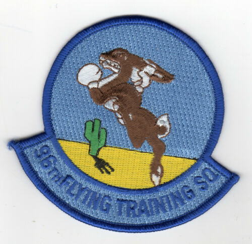 Laughlin AFB 96th FLYING TRAINING SQUADRON Texas Patch Cat C6237 No