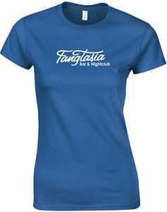 Fangtasia-True-Blood-inspired-Ladies-Printed-T-Shirt-Women-Tee-New-Short-Sleeve