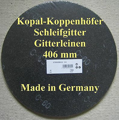 """50 Dragon Profi Schleifgitter  Durchmesser  20cm 180 Korn  8/"""" Super Angebot"""