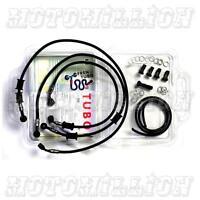 Fren Tubo Carbon Fiber Braided Brake Line Kit Honda Cbr 600 Rr 2007-2012