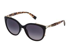 Herren-accessoires Ehrlich Sonnenbrille Furla Frau Sfu151 Rauch Verschwinden Schwarz Glänzend Z4 Sonnenbrillen & -zubehör