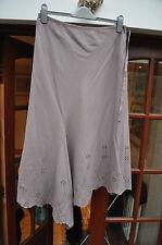 Monsoon winter skirt - cutwork hem - size 14 - v. pretty, dry cleaned,immaculate