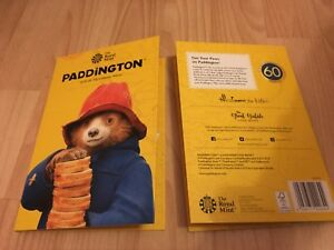 Brand new 2018 Paddington Bear Fifty pence Collector Album At Station & At Place