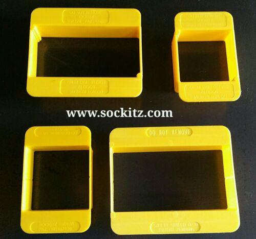 Sockitz Safetyshield Paint Guard 1/&2 Gang 30mm 20no not yoozy box