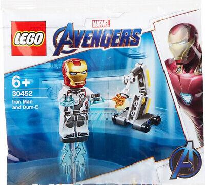 LEGO 30452 Iron Man and Dum-E Marvel Avengers polybag Ironman Endgame