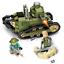 Militär Soldaten WW 1 Panzer FT-17 Krieg Baukasten Blocks Baukästen 368PCS