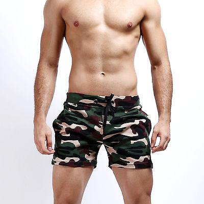 2016 SEOBEAN New Camouflage Summer Men's Cotton Shorts Beach Pants Casual Shorts