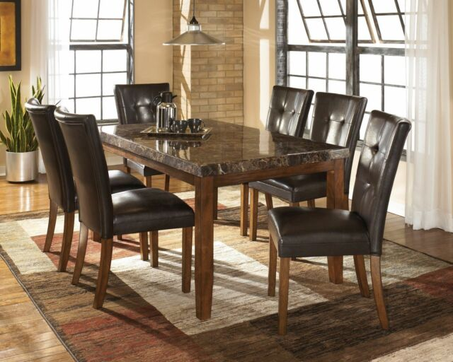 Ashley Furniture Lacey 7 Piece Rectangular Dining Room Table Set