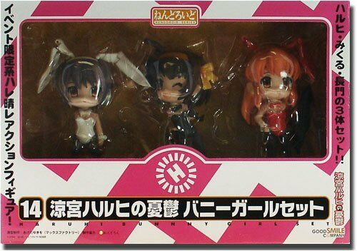 NEW Nendoroid The Melancholy Bunny Girl Set Usually Ver/ Wonder Festival 20 F/S